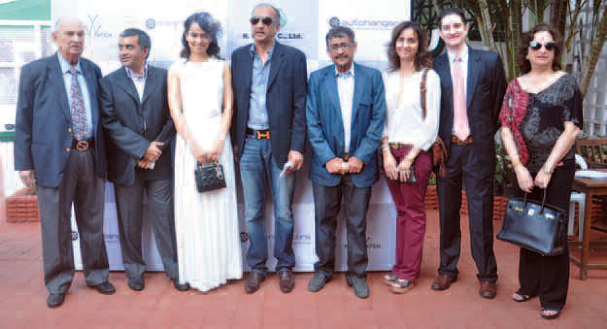 Bollywood presence at Metro Motors Autohangar Sir H.M Mehta Million Trophy