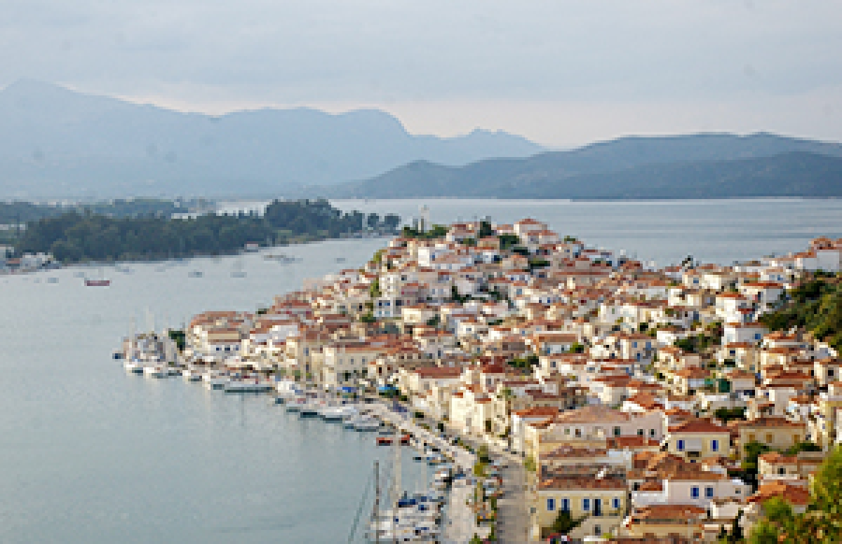 Greek Islands on  the Saronic Gulf