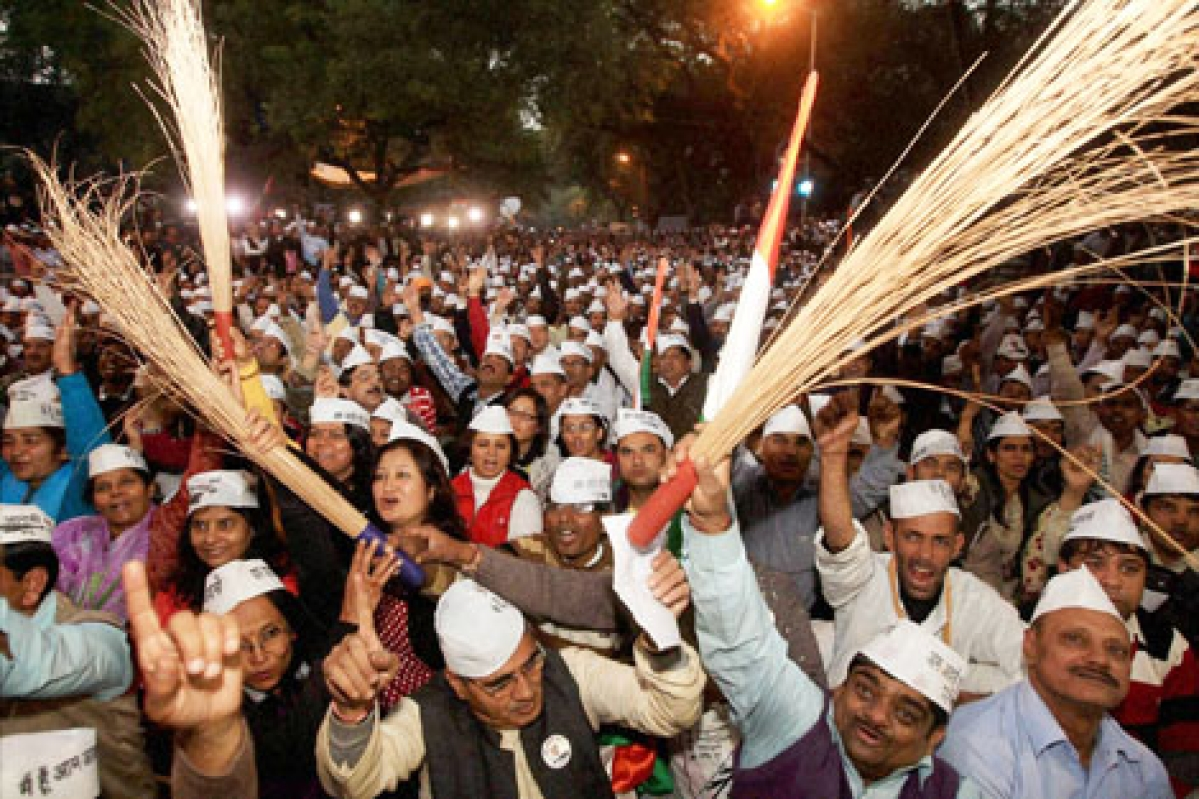 The only 'aam admi' in party's Mumbai office