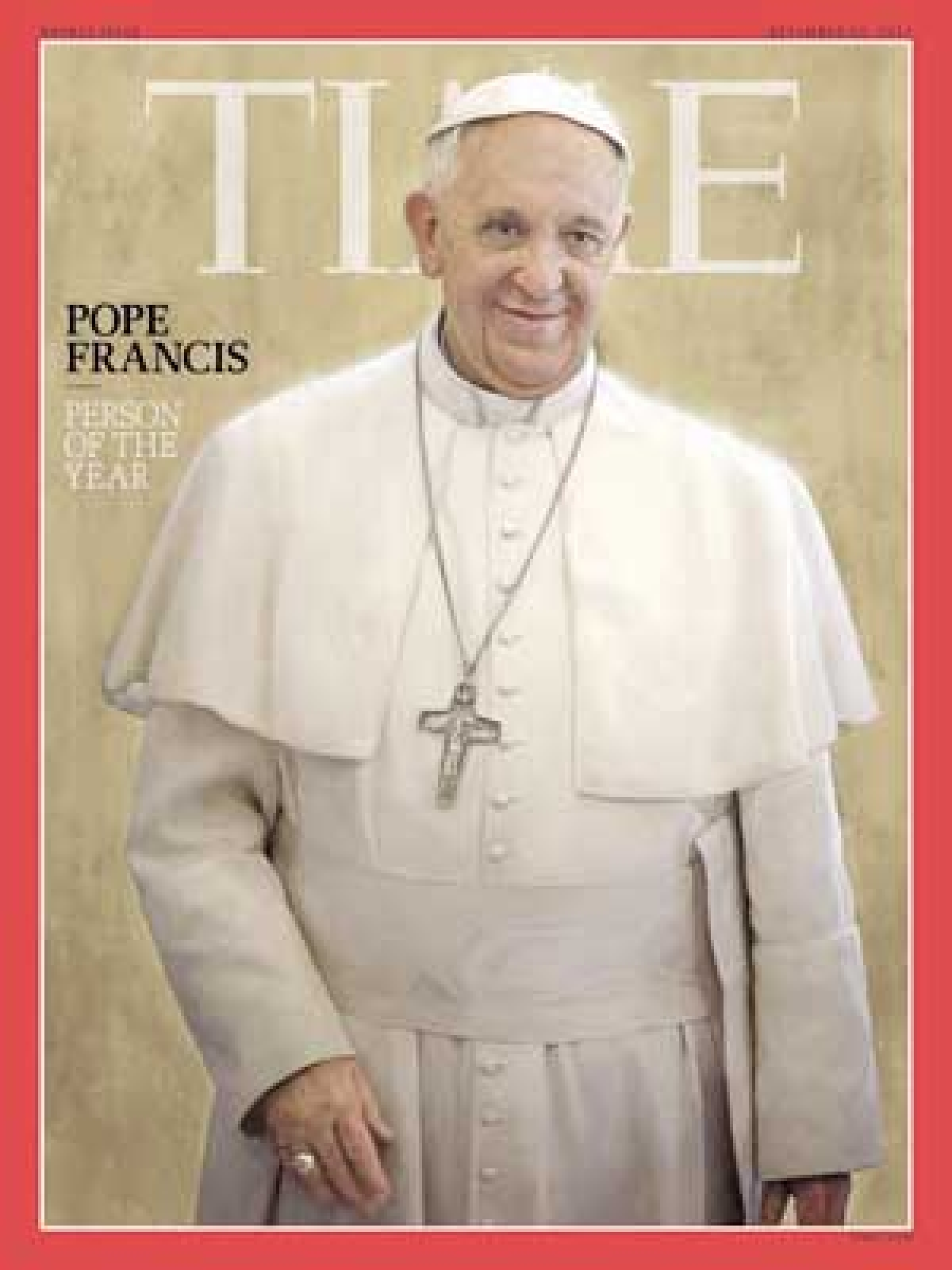 Time magazine names Pope Francis Person of the Year
