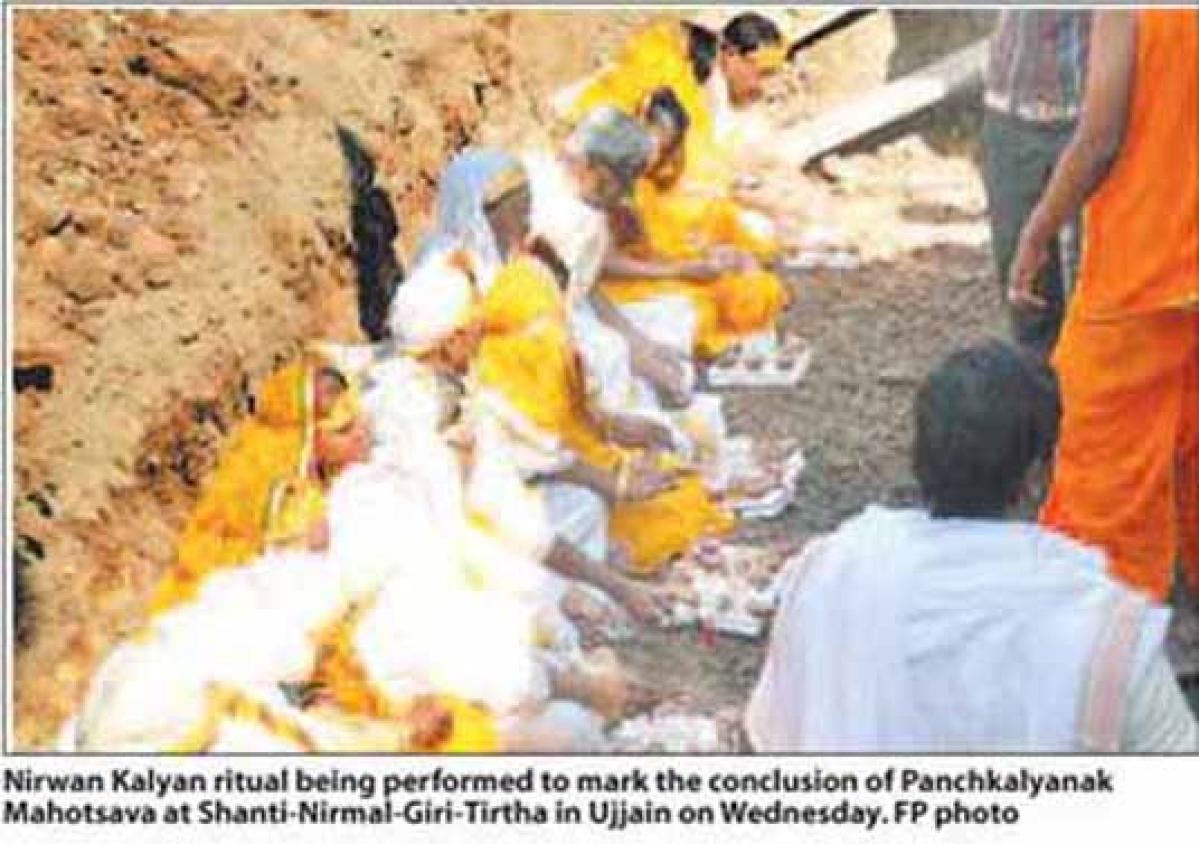 Panchkalyanak Mahotsav concludes with Nirwan Kalyan rituals