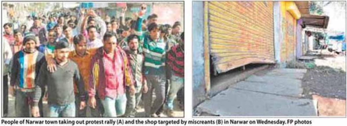 Narwar where thieves strike at their will