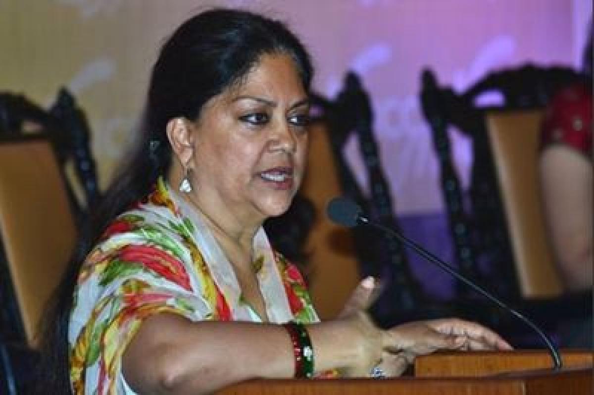 Vasundhara Raje to present annual budget tomorrow