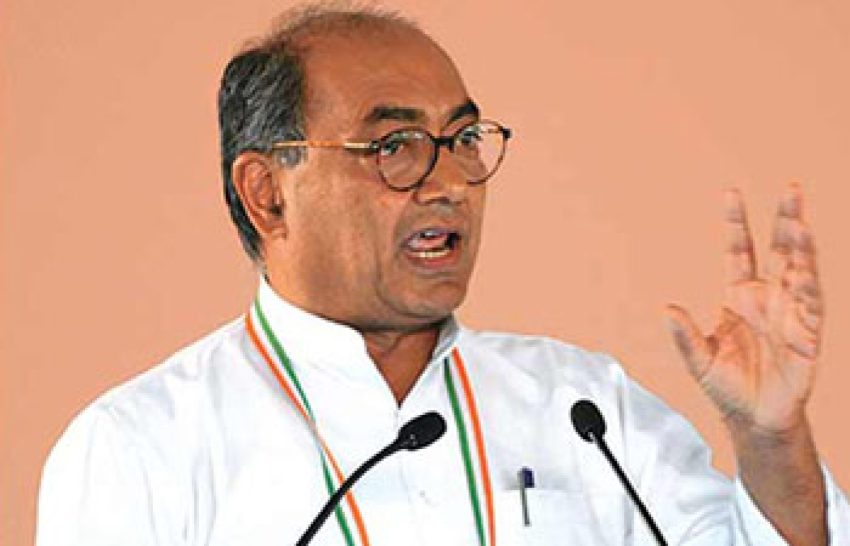 Bhopal: Digvijaya Singh critical of Narendra Modi government policies in valley