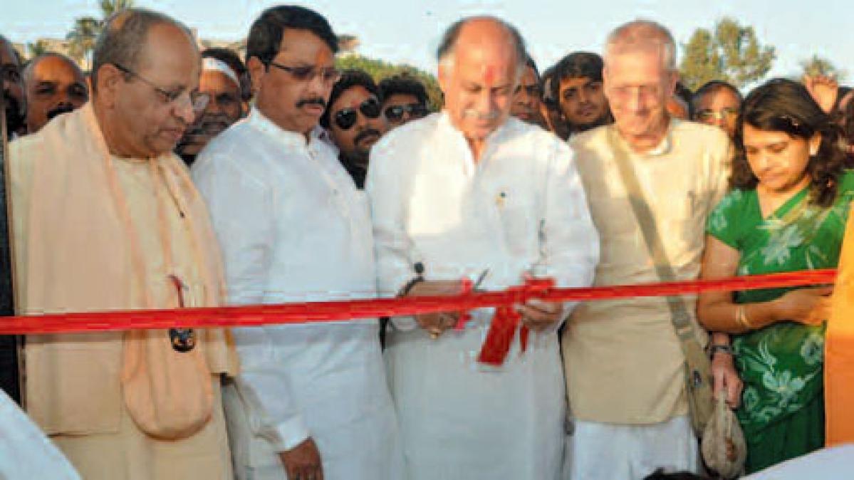 Inauguration of Shri Sunil Dutt Garden