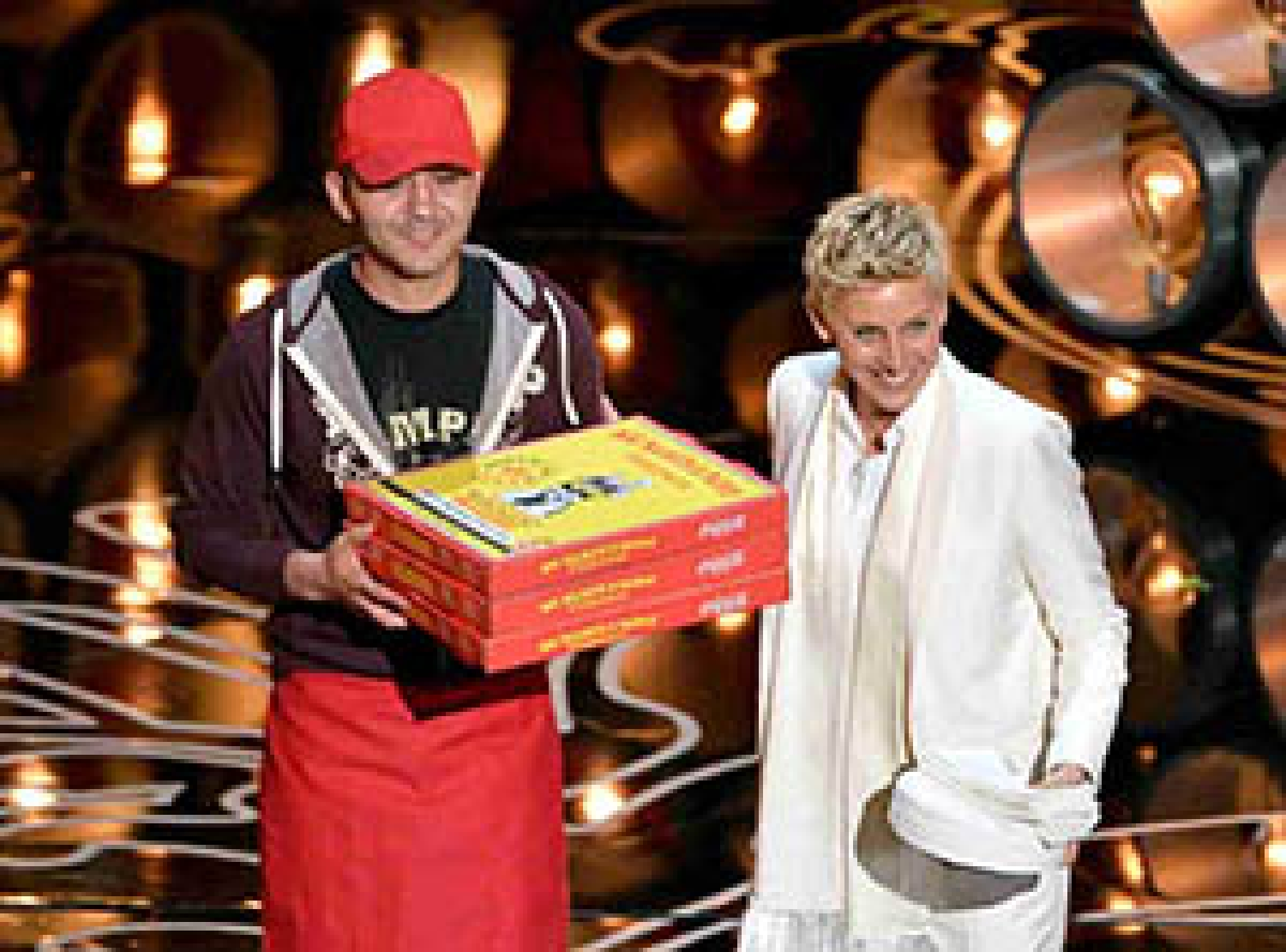 Oscars pizza delivery boy gets $1,000 tip