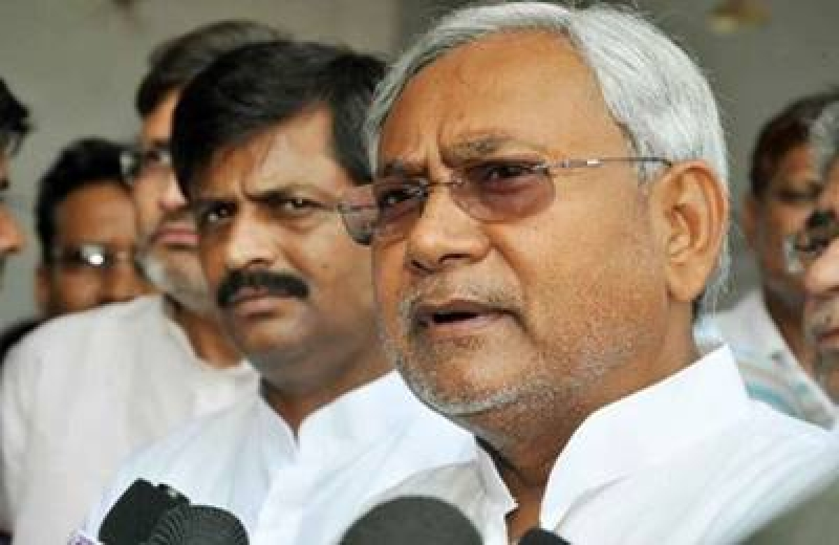 No question of alliance with Congress: Nitish Kumar