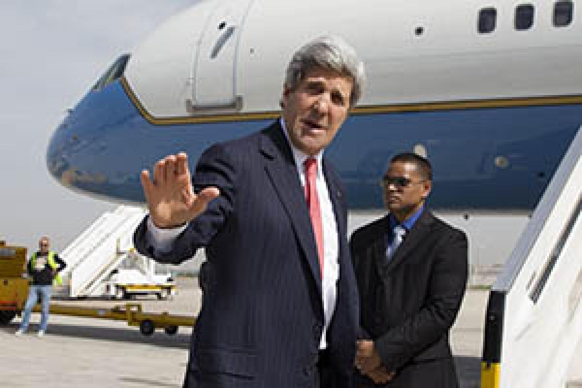 John Kerry's plane grounded … again