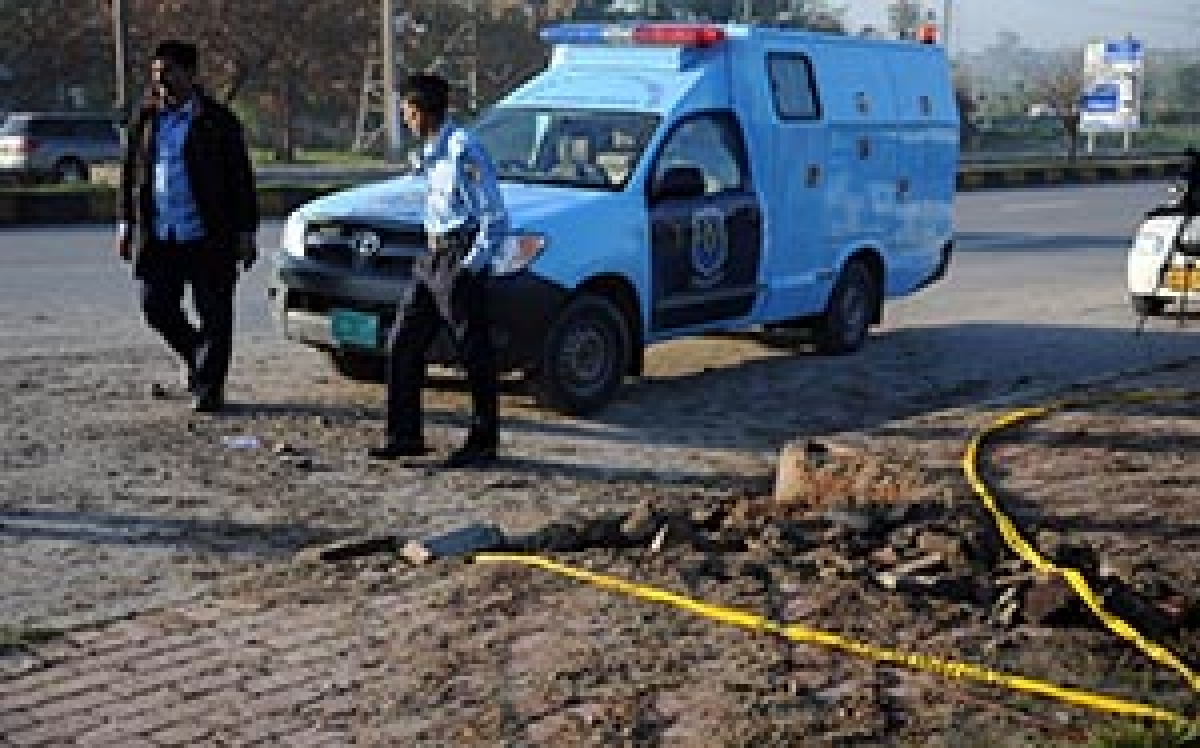 Islamabad blasts a warning from militants: Police