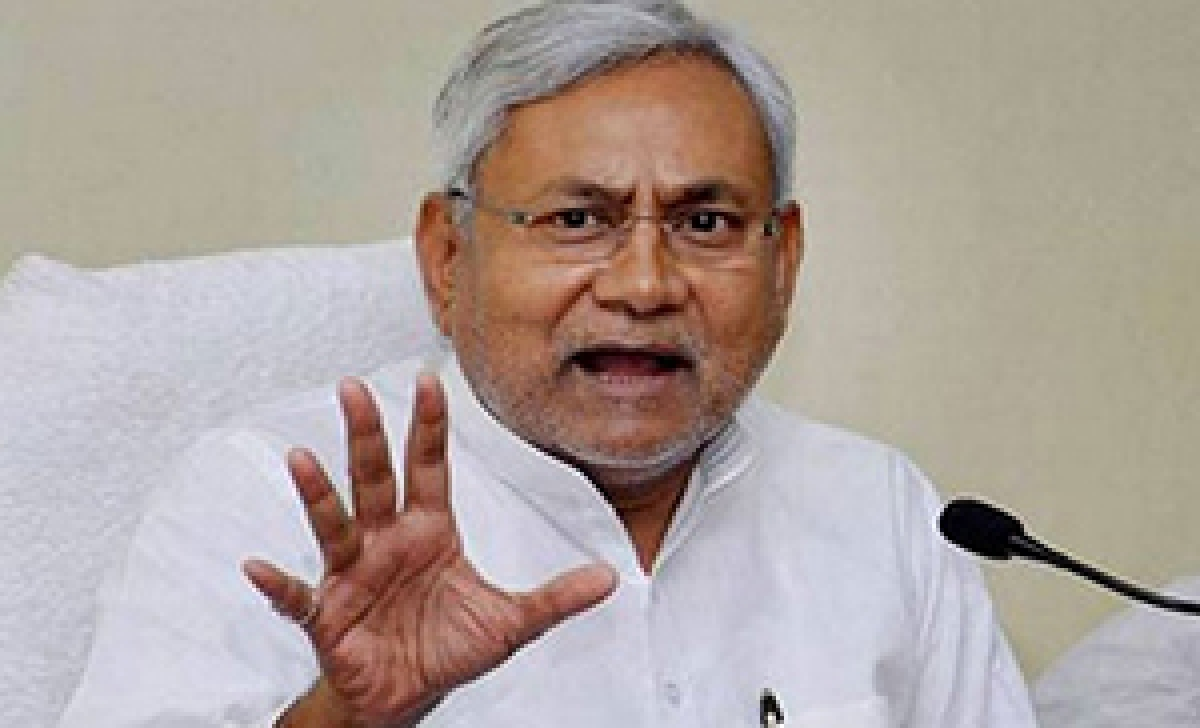 Nitish greets Modi, says he has great expectations