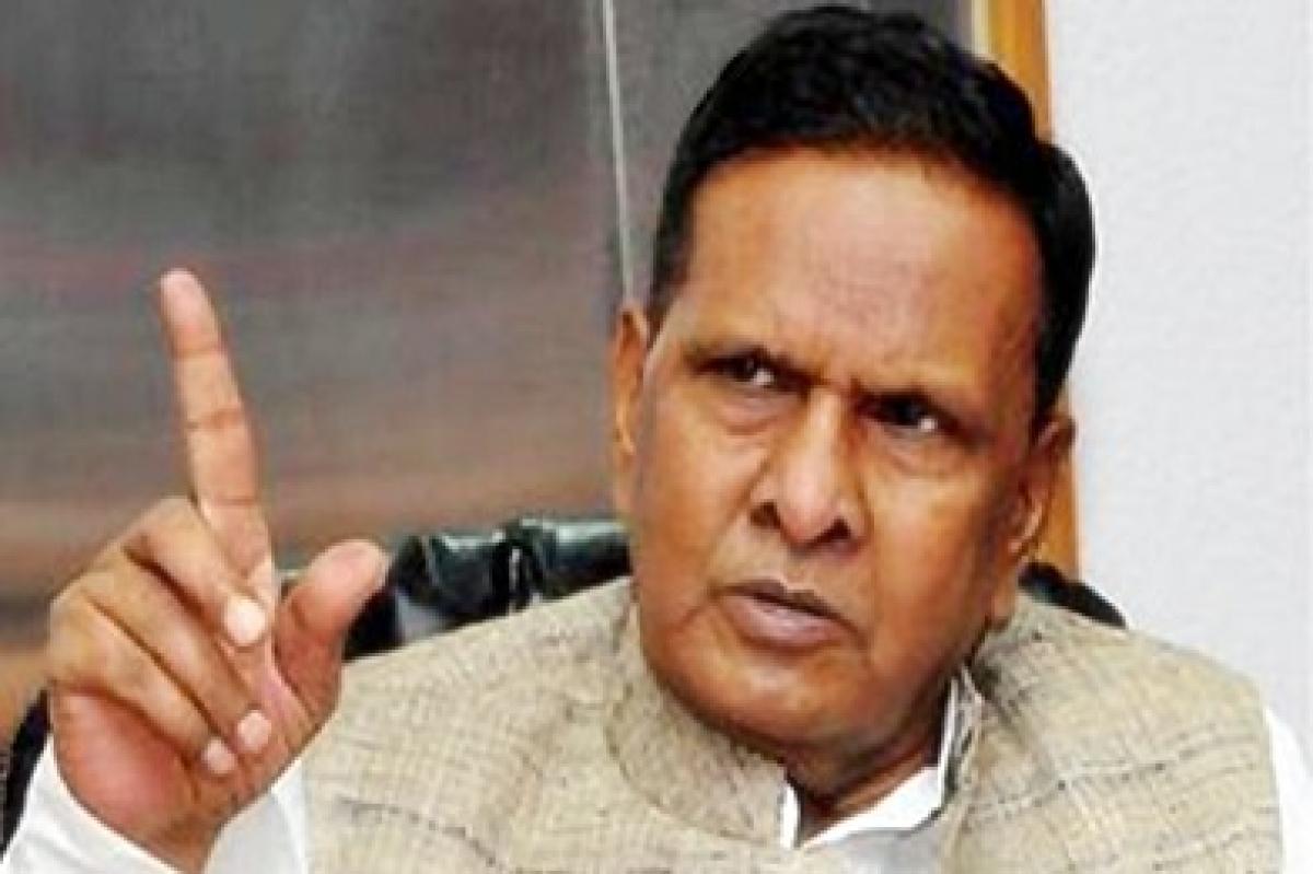 Beni Prasad Verma files nomination