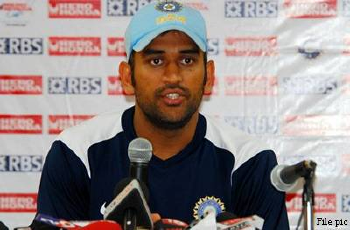 Hope getting out after a start doesn't become a habit: Dhoni