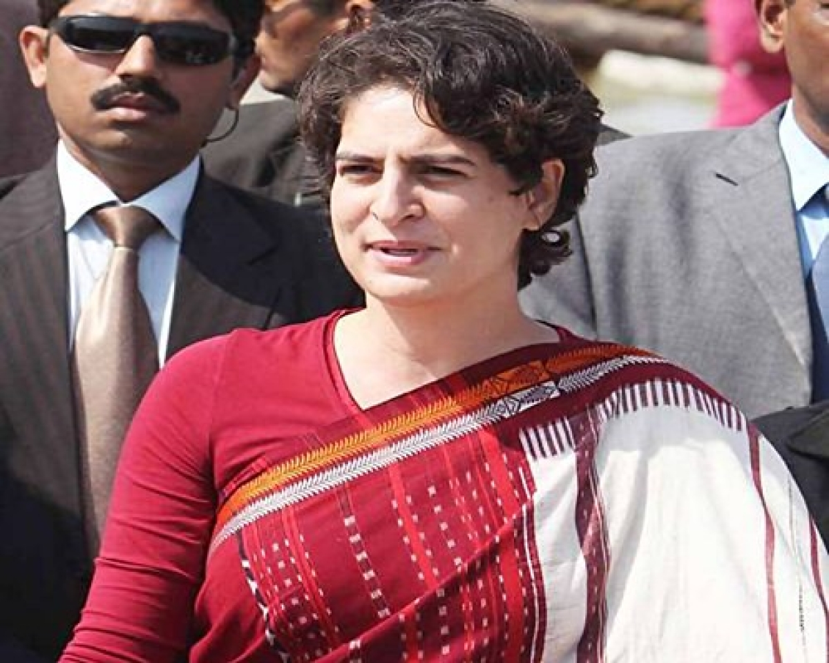 Congress workers want Priyanka Gandhi as UP CM candidate