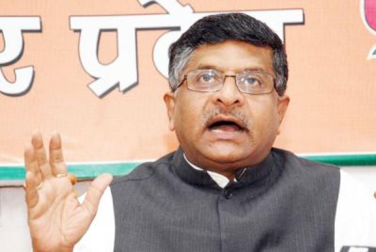 Rail fare hike was inevitable: Ravi Shankar Prasad