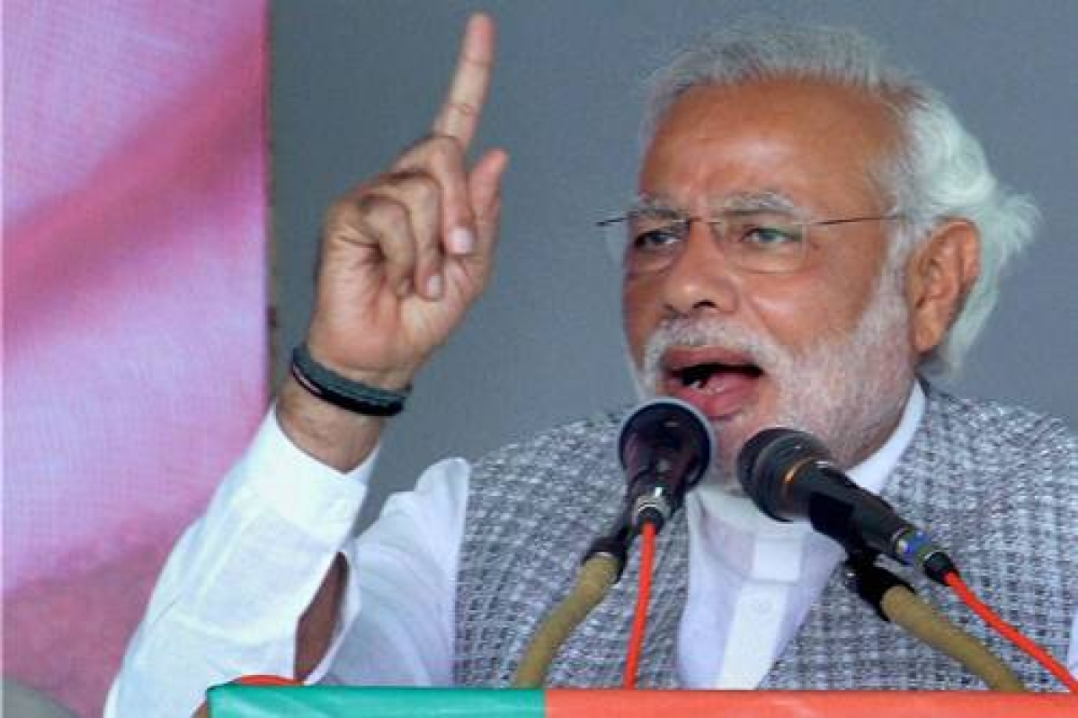 Cong targets Modi over press freedom
