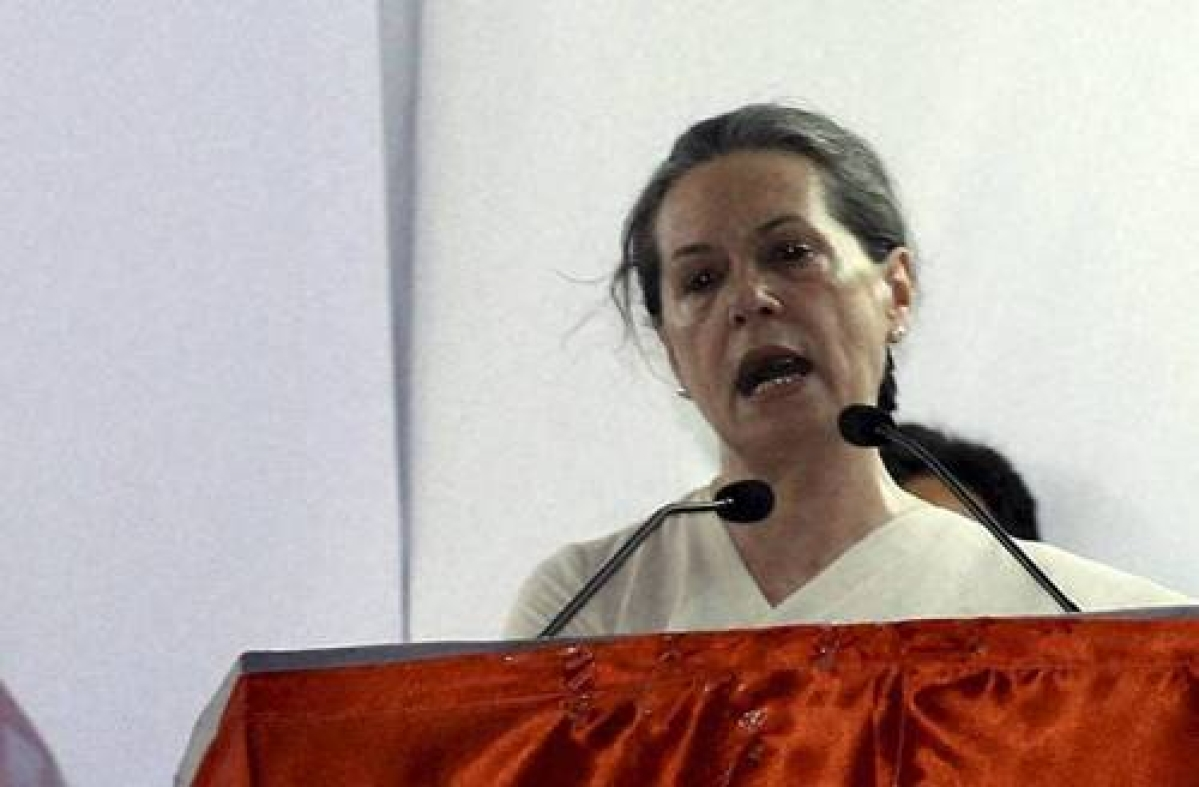 Sonia expresses grief at loss of lives in train accident
