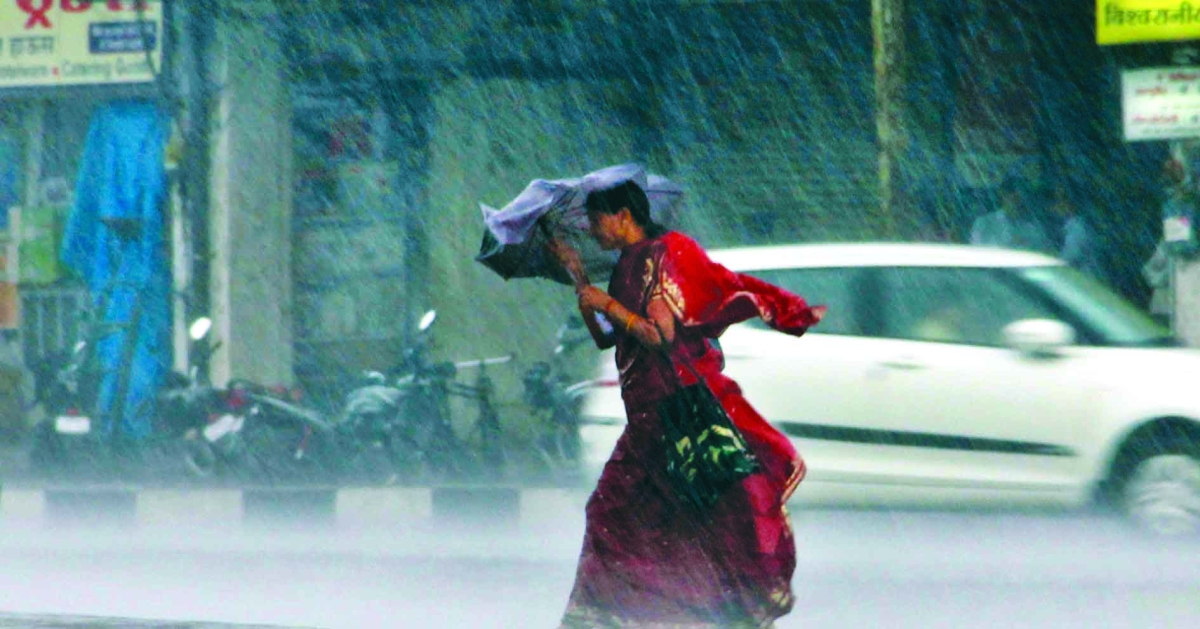 Rain washes out day two of Navtapa; temp slips below normal