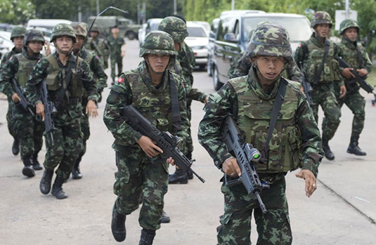 Thai army seizes power as talks between rivals fail