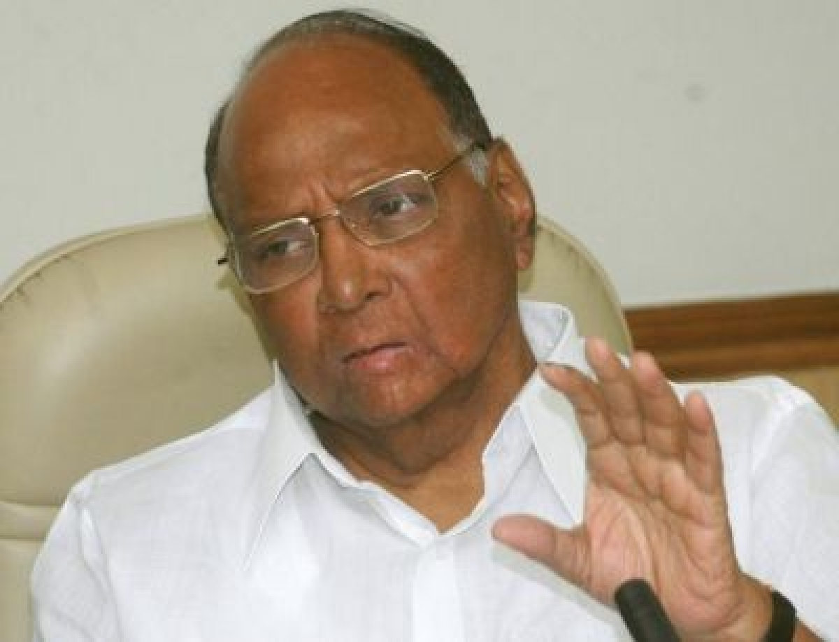 Cong, NCP to fight Maharashtra Assembly polls together: Pawar
