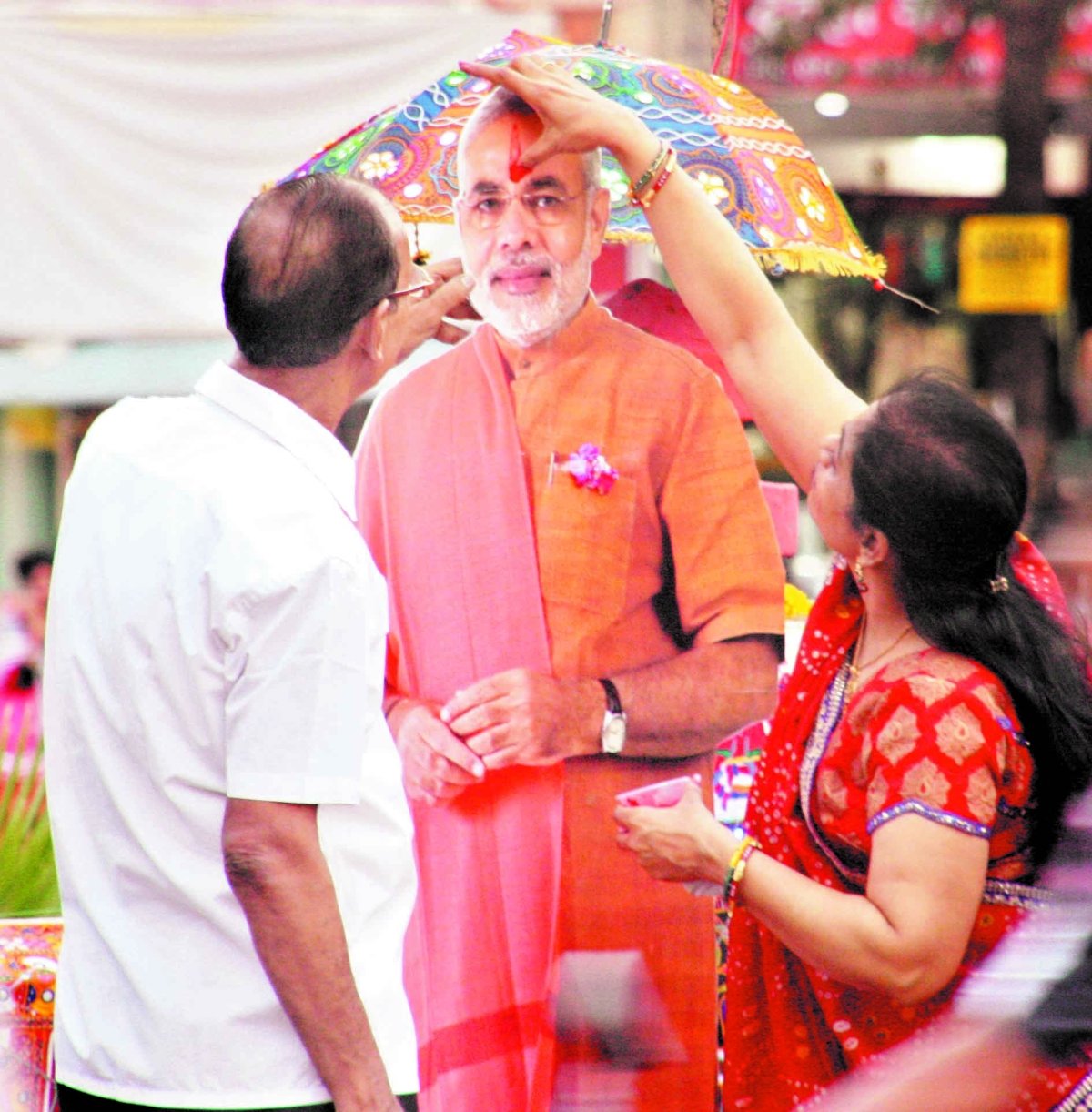 Indore celebrates Modi's crowning