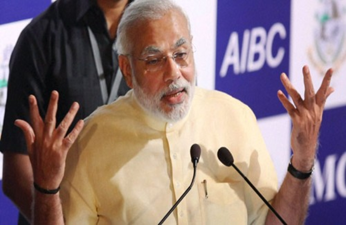 Low level politics will help India come out of misrule: Modi