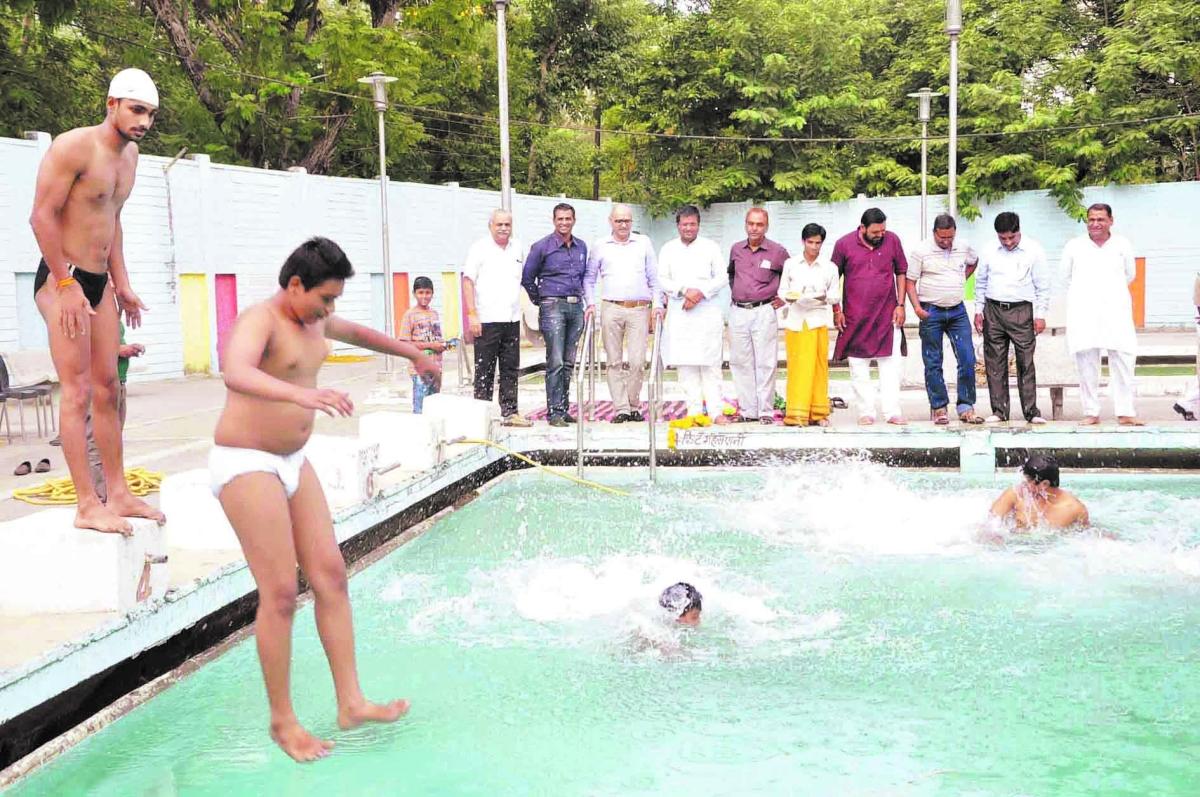 UMC swimming pool inaugurated