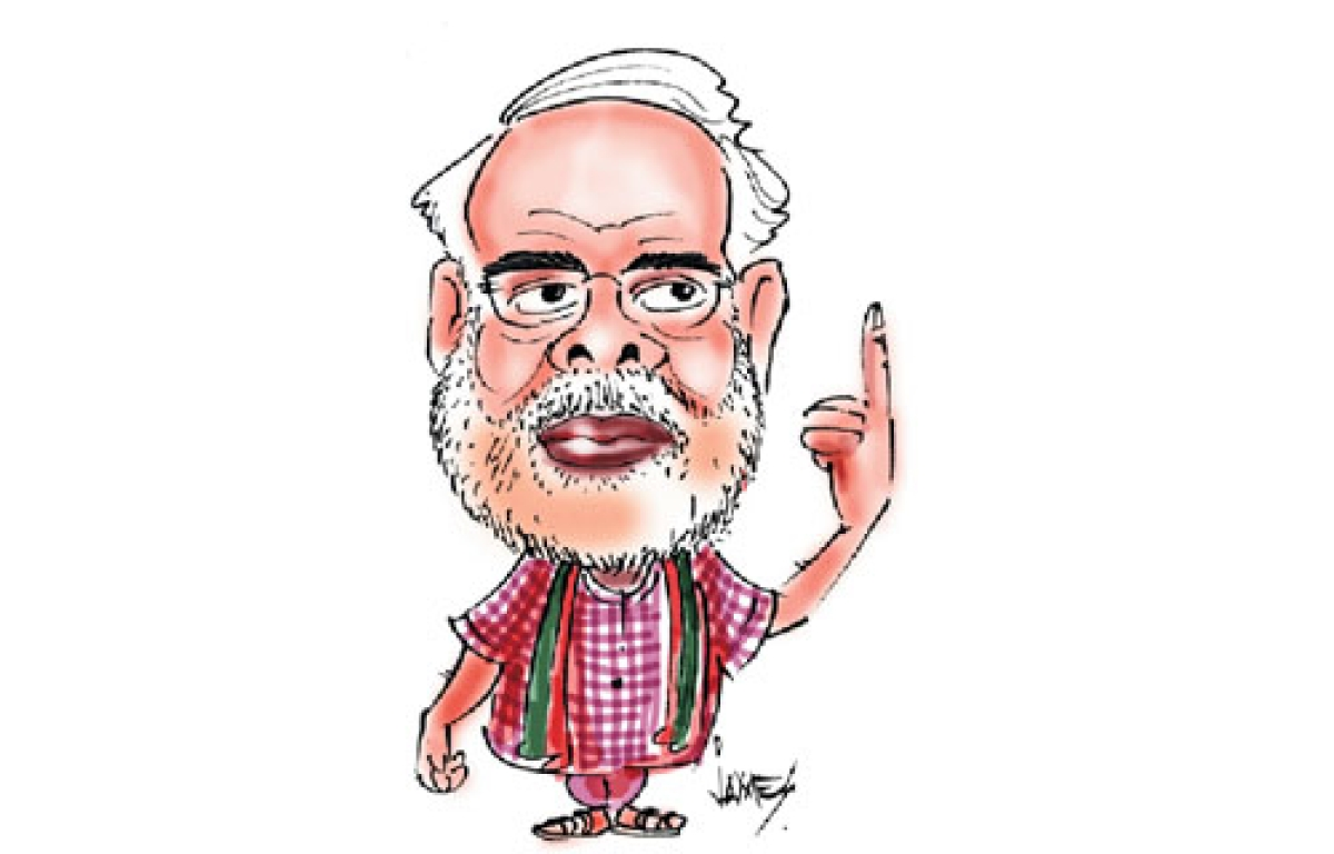Caste spin to 'neech rajniti'