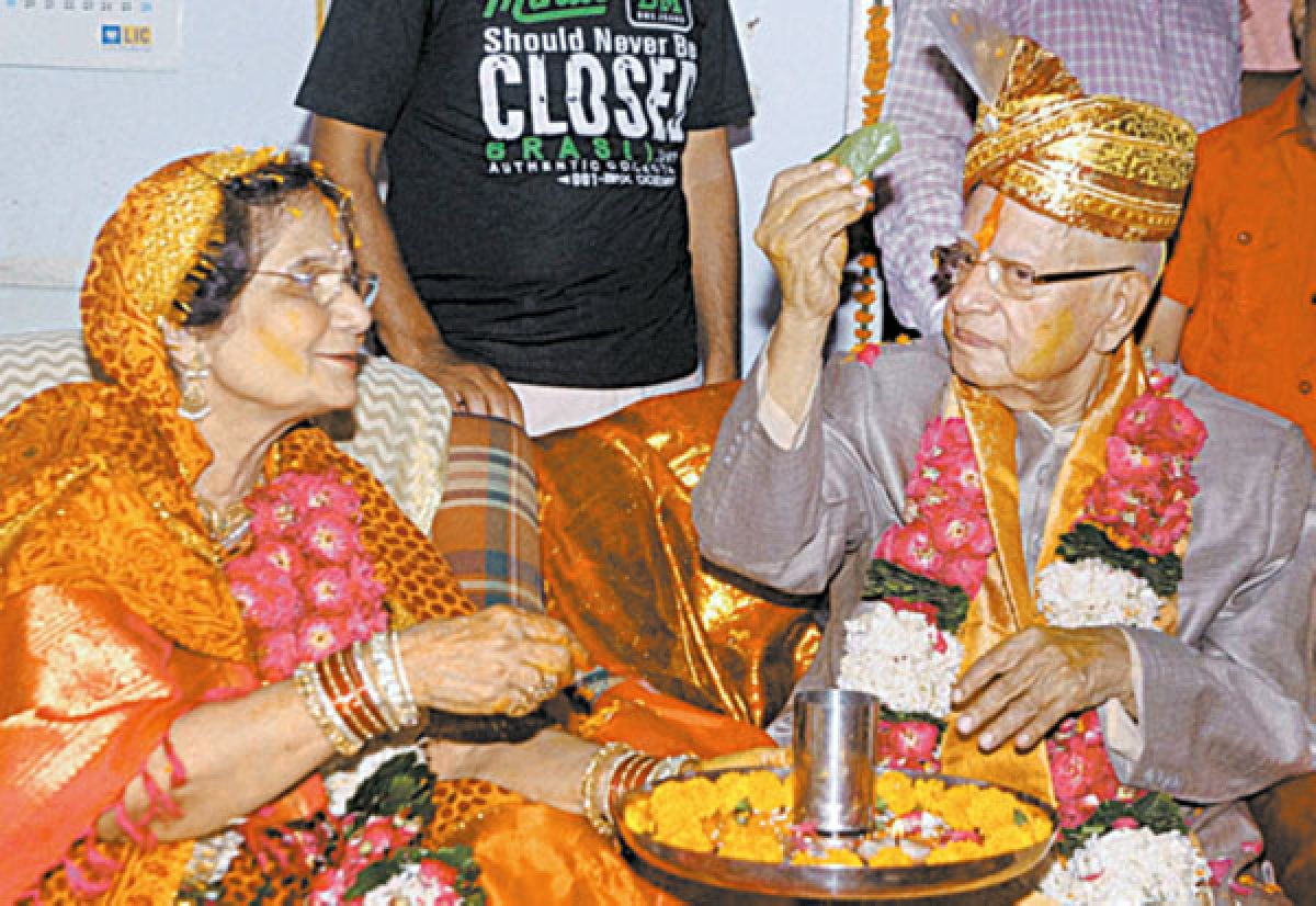 88-year-old Tiwari's moment of 'yuva josh'