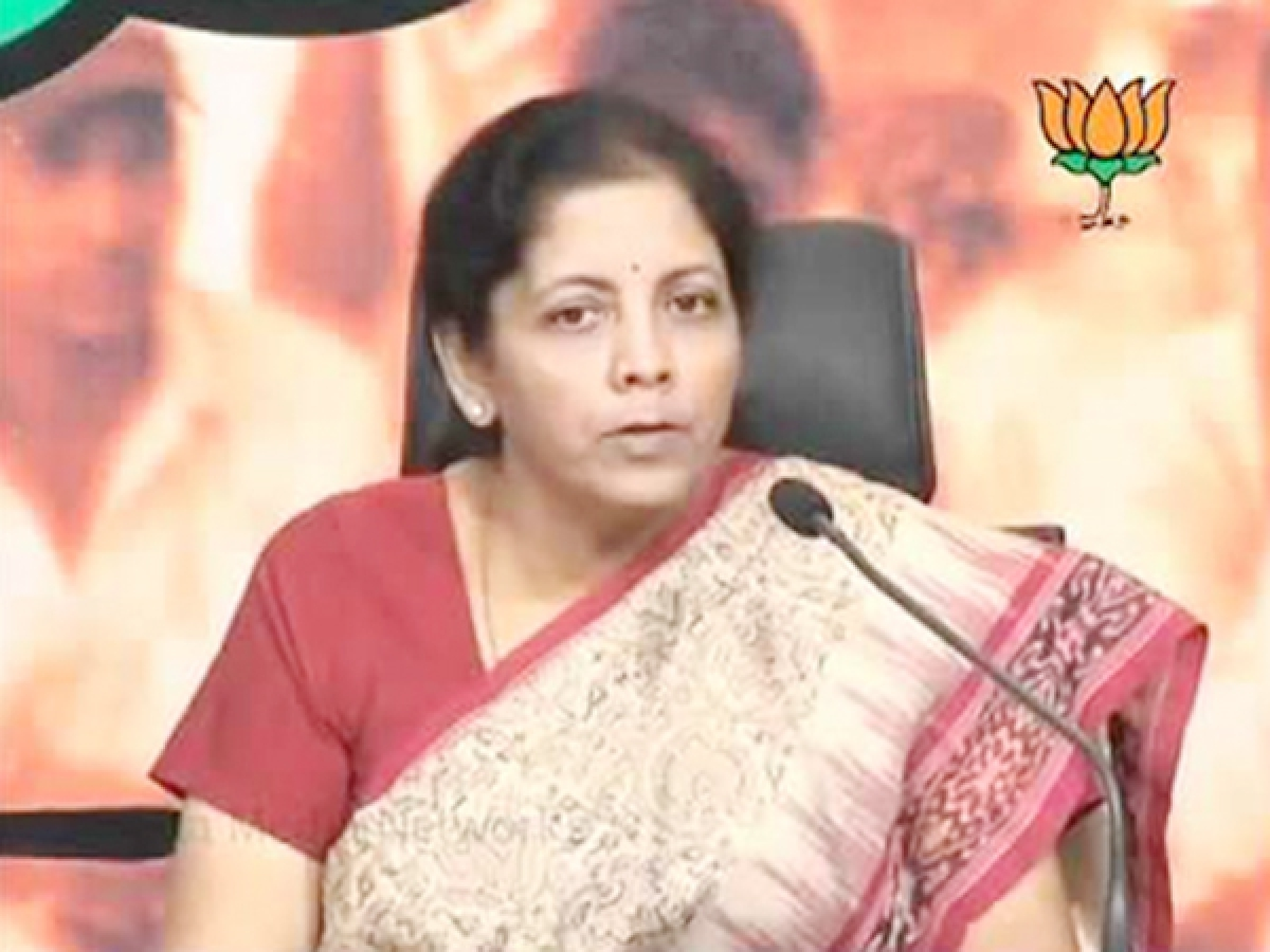 GST was implemented with nod from all political parties, says Sitharaman