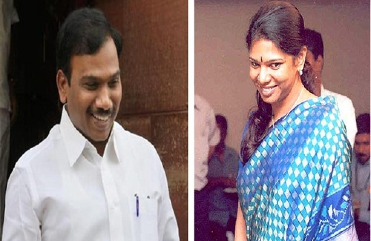 2G case: Raja, Kanimozhi move bail application
