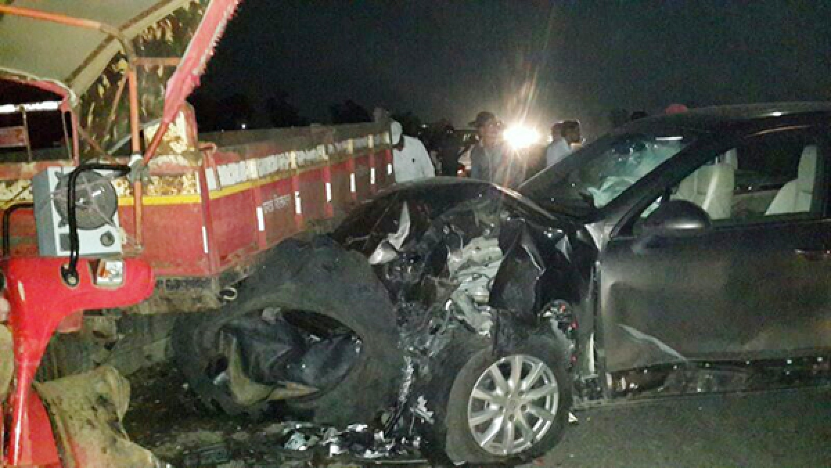 Boney Kapoor meets with car accident