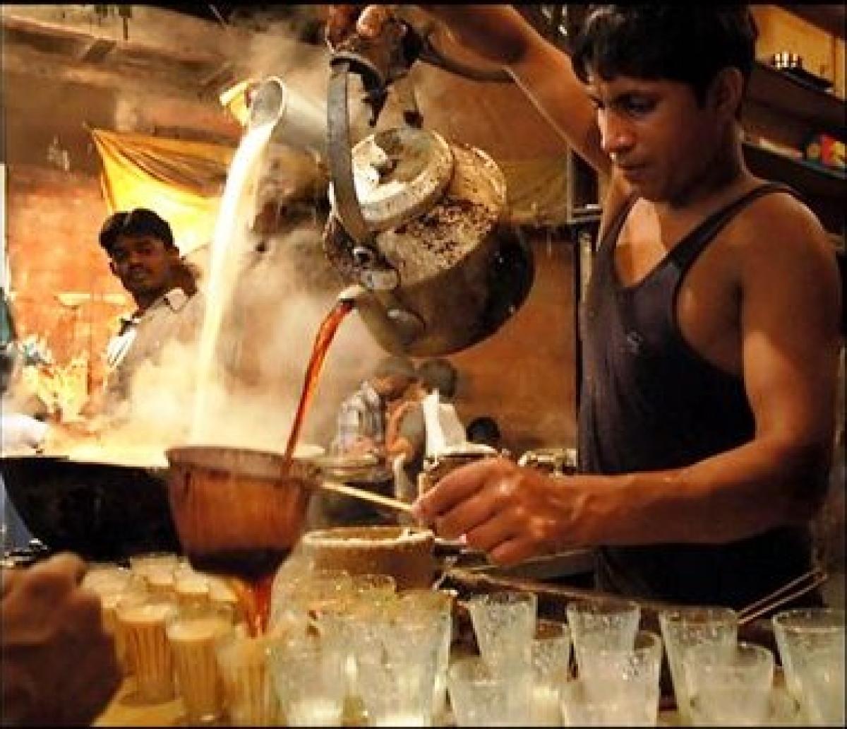 Tea vendors look upon Modi with pride and hope
