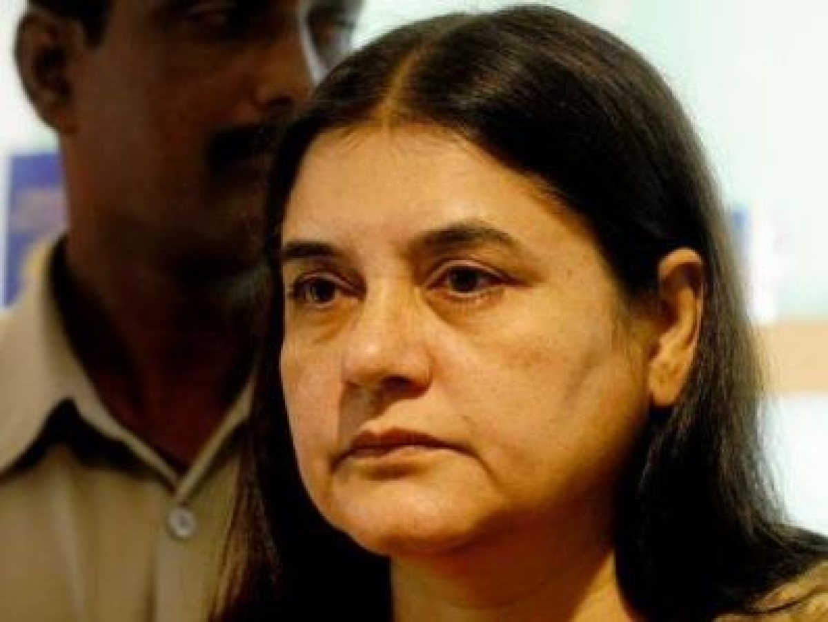 Ghaziabad police officer misbehaves with Maneka, probe on