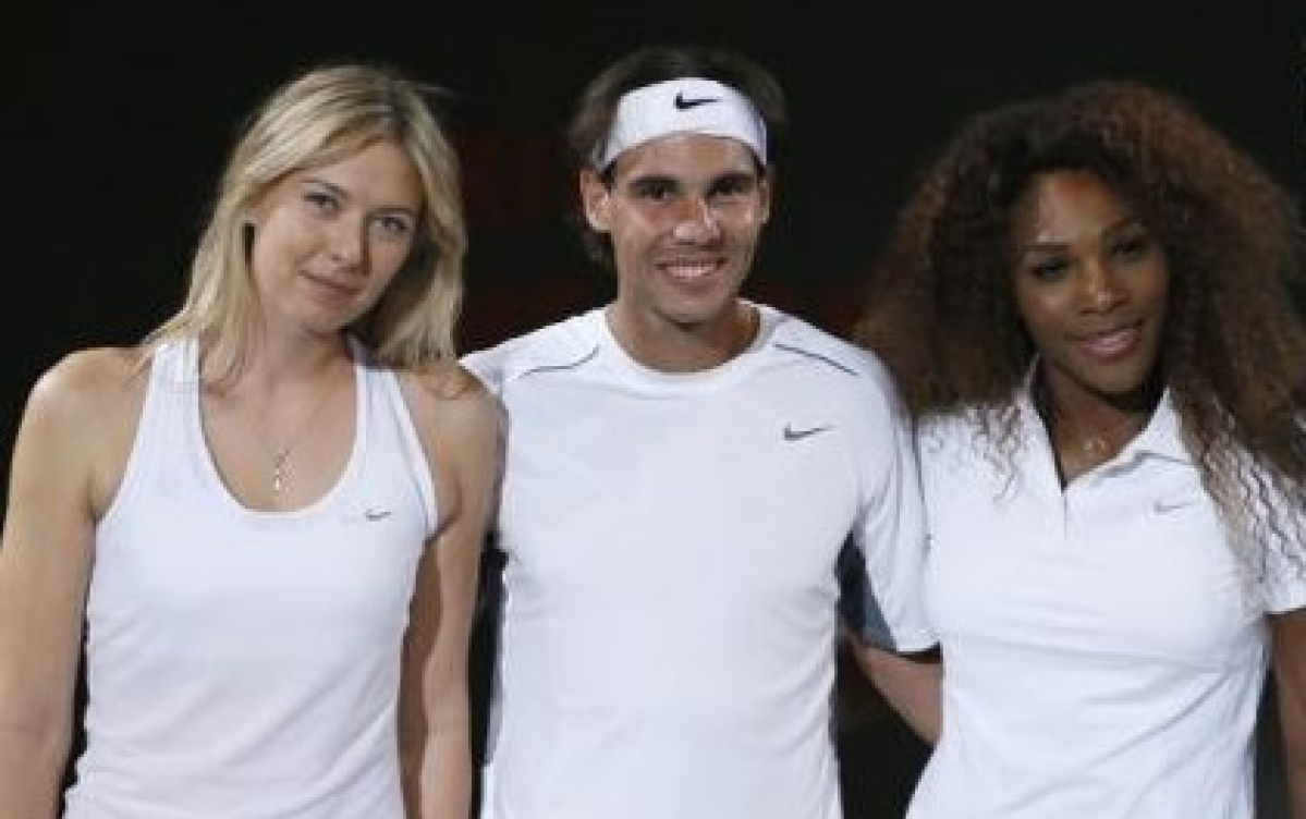 Nadal, Serena, Sharapova progress to third round of Italian Open