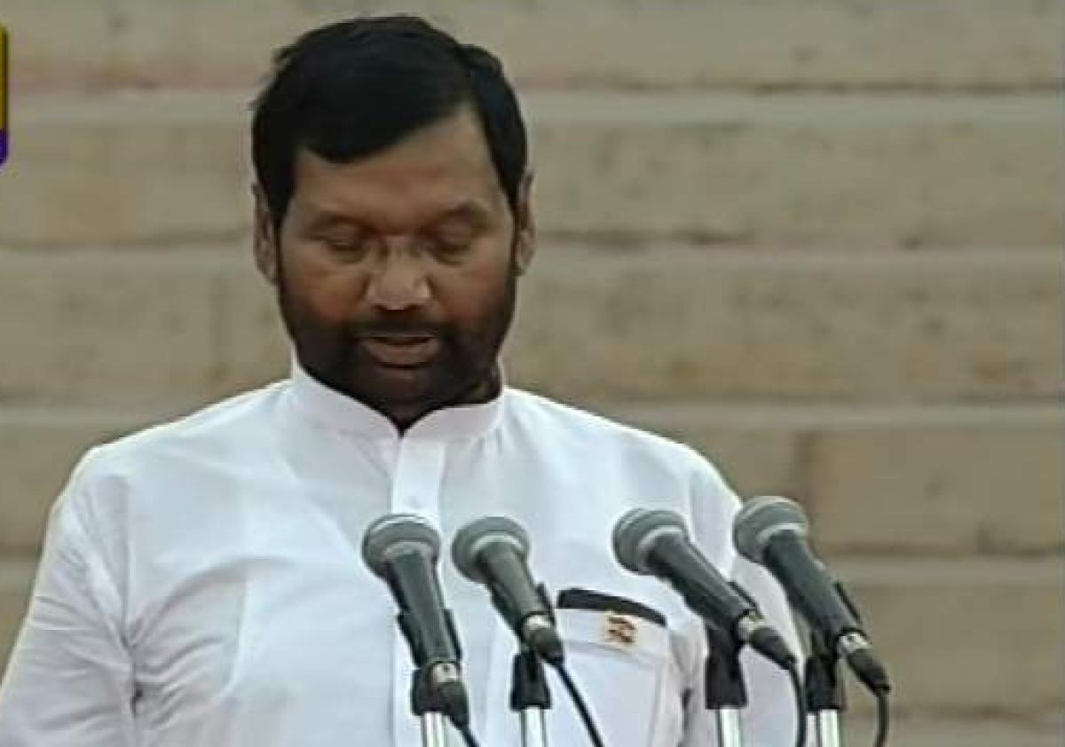 Paswan, a prominent Dalit face of Narendra Modi govt