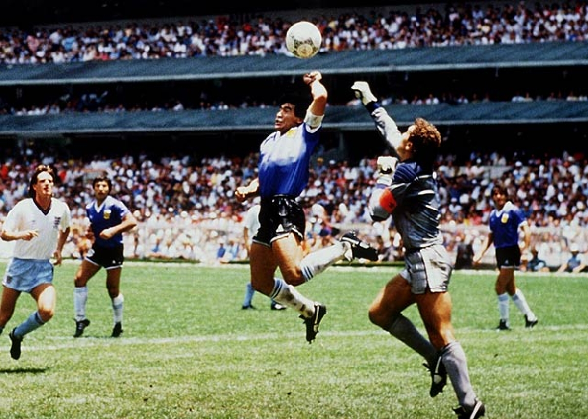 Football legend Diego Maradona passes away: Remembering the infamous 'Hand of God'