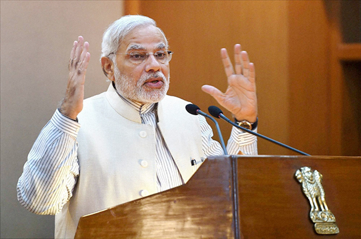 India needs to increase farm output: Modi