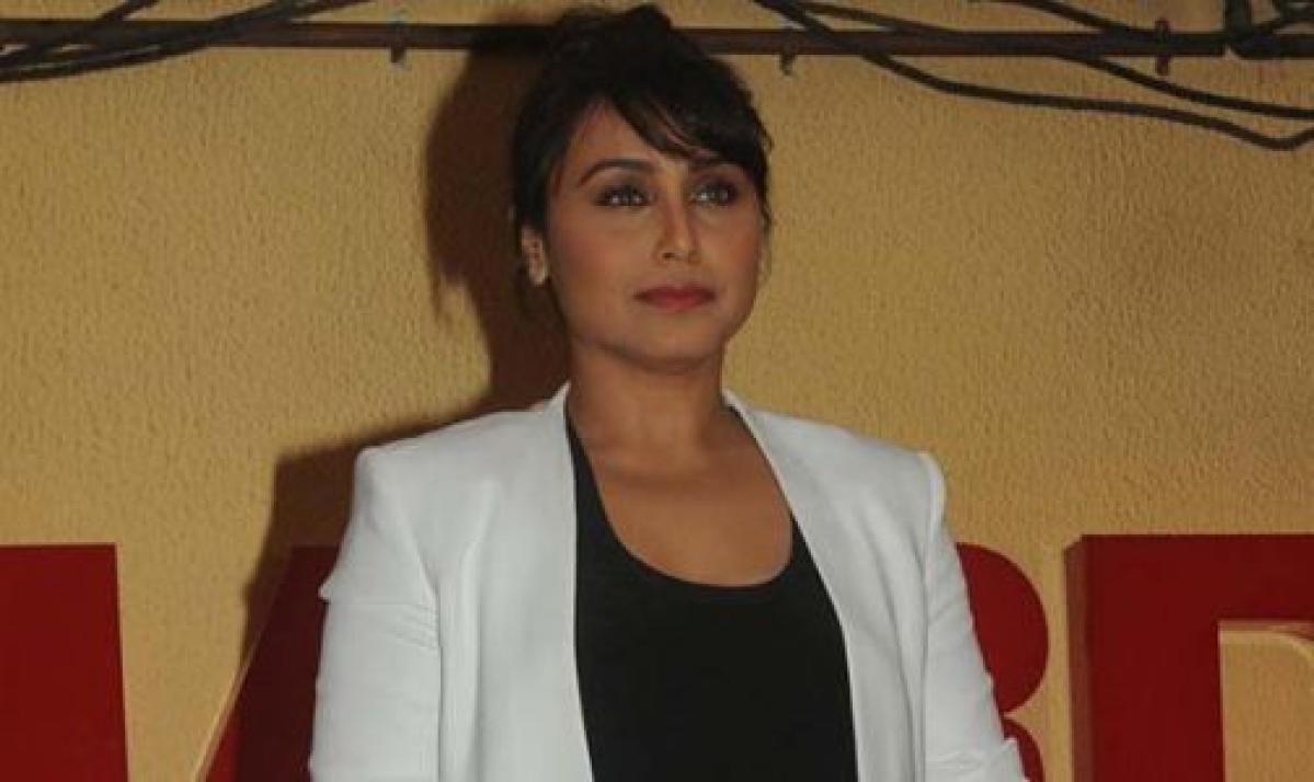 """""""My film 'Mardaani' aims to inspire girls: Rani Mukerji"""