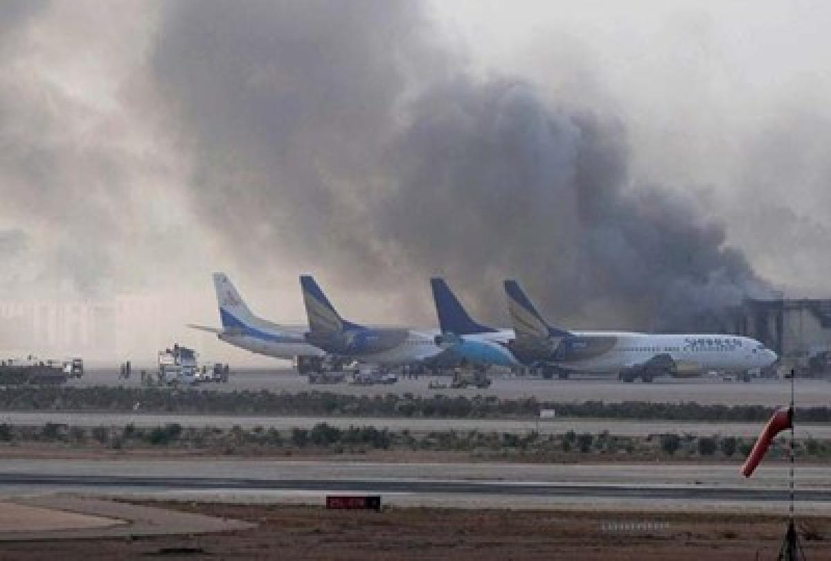 Terror strike near Karachi airport