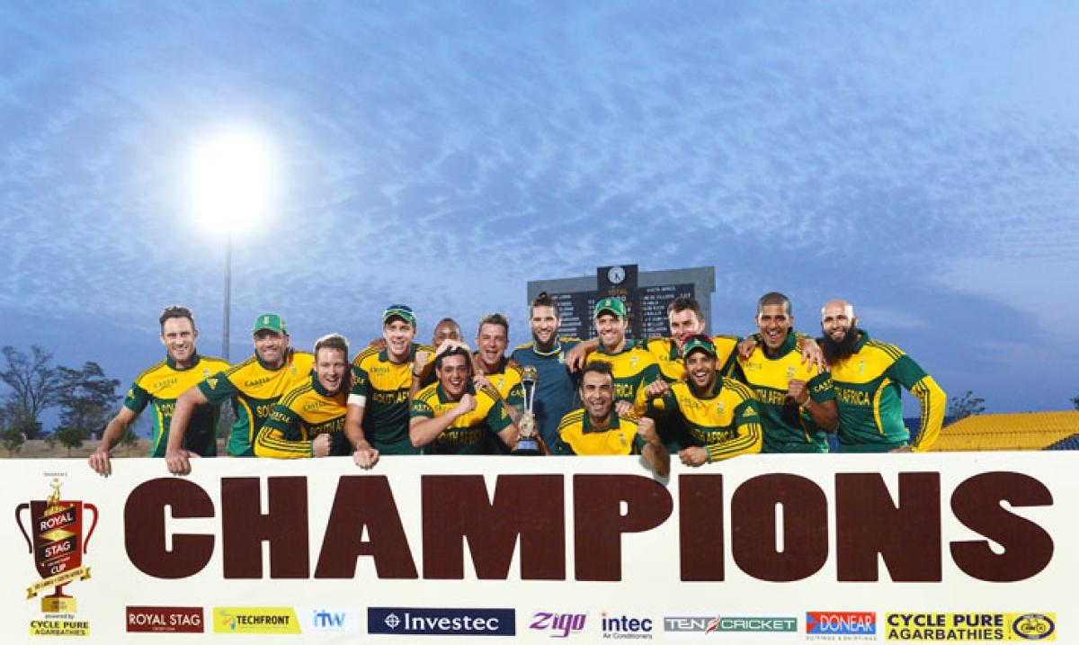 SA ride home to historic win