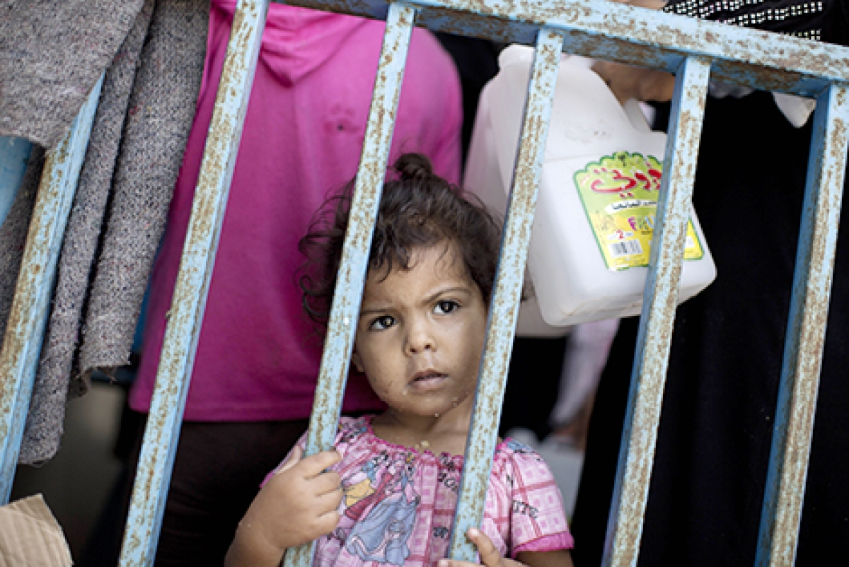 20 die in UN school bombing in Gaza