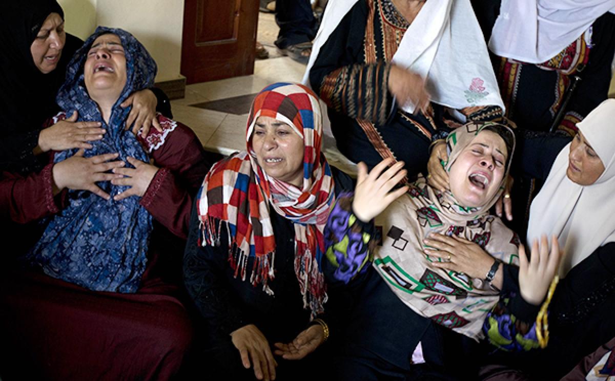 Kills over 38 Palestinians, including children, as military targets Hamas  Israel intensifies Gaza air strikes