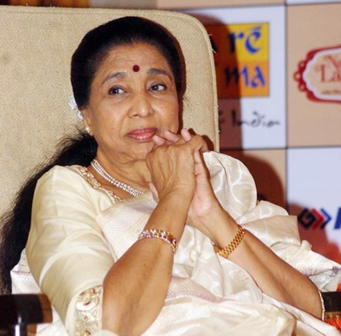Highest civilian award of West Bengal for Asha Bhosle