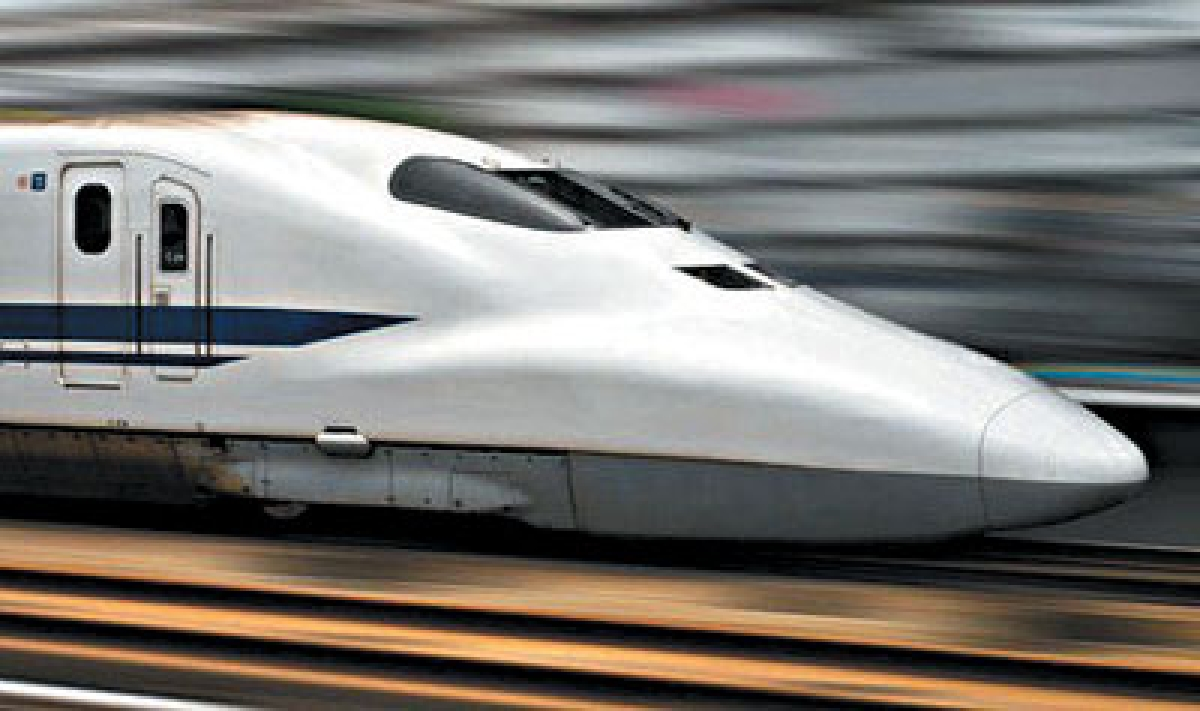 Can we build a bullet train at bullet's pace?