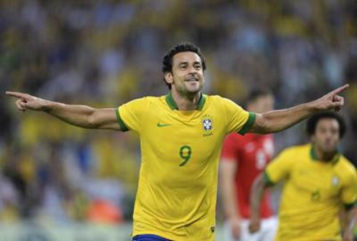 Brazil striker Fred