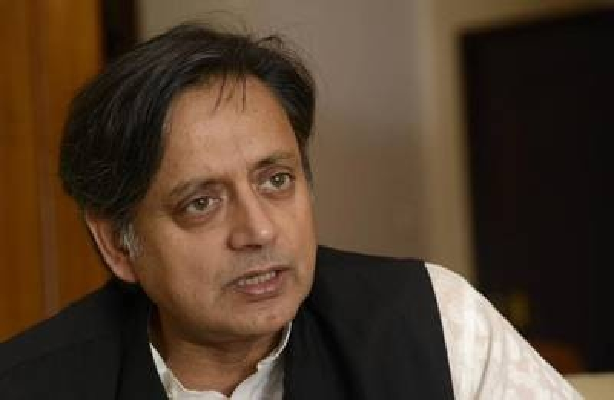 Tharoor questions government over women's safety in railways