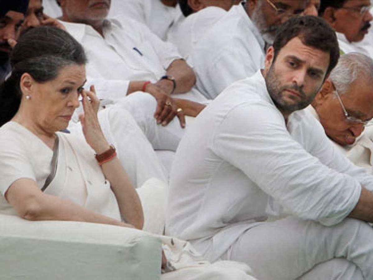 Nearly headless Congress savaged by Rajasthan tussle