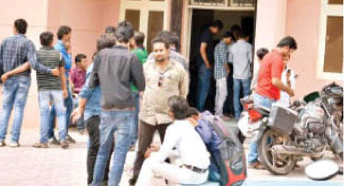 Evaluation Centre searched by intruders, DAVV stunned