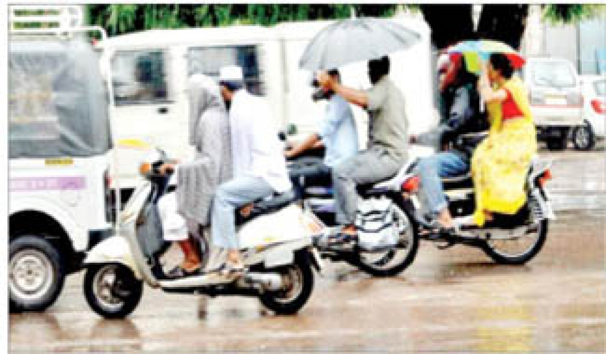 Monsoon hits region, brings happiness & joy