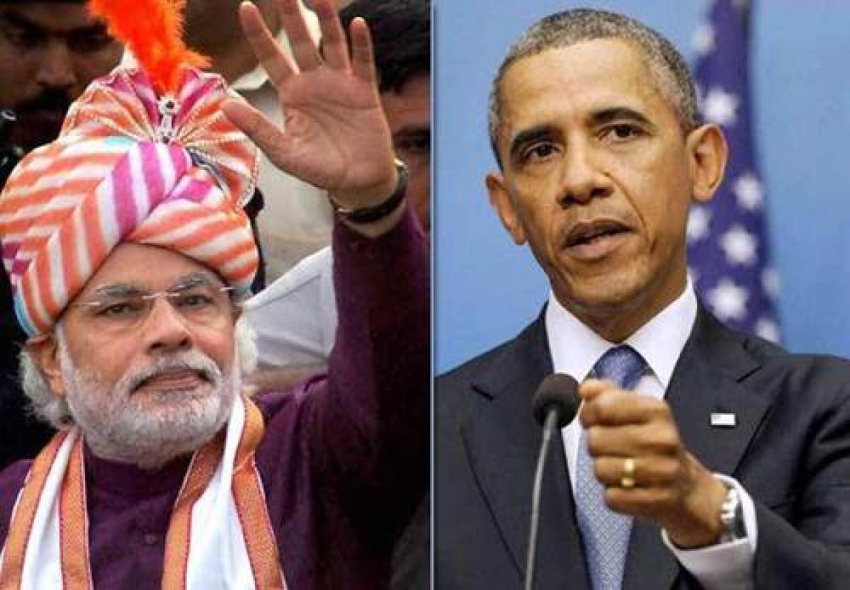 Wonderful meeting Obama, says Modi after 'Kem Chho' greeting